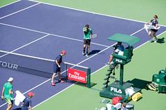 roger (Purple Cow Pictures) Tags: tennis indianwells tournament desert palmsprings swiss switzerland rogerfederer stanwrawrinka martinahingis sport photography fun moetchandon moment