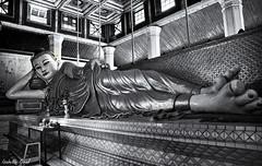 (isabelle.giral) Tags: bouddha buddha birmanie burma myanmar mawlamyine bw nb noir blanc monochrome pentax