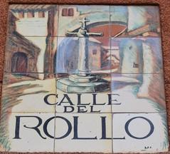Azulejo de calle del Rollo. Madrid (Carlos Viñas-Valle) Tags: azulejo calledelrollo