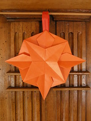 Star with a handle (Mélisande*) Tags: mélisande origami star tomokofuse yamaguchi
