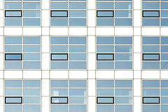 Twelve black windows (Jan van der Wolf) Tags: map170302v facade gevel building gebouw herhaling repetition windows ramen architecture architectuur lines lijnen geometric geometry geometrisch geometrie playoflines interplayoflines lijnenspel denhaag composition