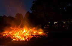creeping closer (dustaway) Tags: fire burnoff northernrivers nsw australia night
