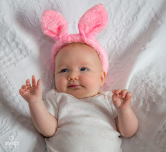 I'm the Easter Bunny! (Impact Imagz) Tags: baby beautifulbaby easter easterbunny rabbitears