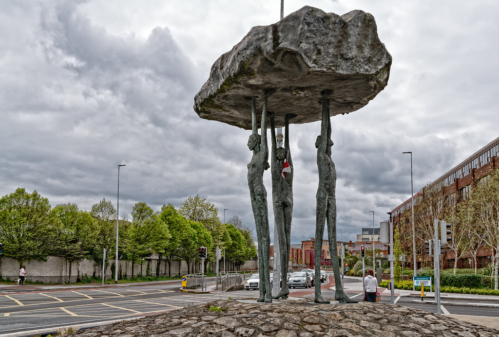 BLACKROCK DOLMEN BY ROWAN GILLESPIE [TEMPLE ROAD BLACKROCK]-126892