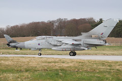 (scobie56) Tags: panavia tornado gr4 raf royal air force lossiemouth lossie moray scotland 12 squadron marham 15 xv disbandment aim sure farewell