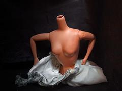 comfortably numb (maximorgana) Tags: beheaded barbie doll drag numb