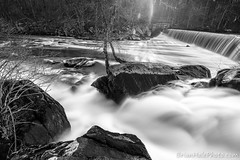 8-web-watermark (Brian M Hale) Tags: blackstone river gorge ma mass massachusetts ri rhode island water fall waterfall black white bw greyscale grayscale brian hale brianhalephoto outside outdoors rocks stones nature newengland new england long exposure nd lee filters graduated filter neutral density little stopper