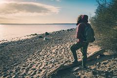 Exploring the world (ChrisRBN) Tags: explore portrait nature sunrise sunset sky beach wideangle wide sand rocks sea ocean water wasser strand baltic ostsee fstop sony alpha a7 a9 a7rii a7ii a7s 1635 landscape landschaft