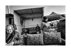 Saturday bazaar (Jan Dobrovsky) Tags: outdoor leica leicaq blackandwhite market document contrast ukraine volyn countryside countrylife