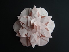 Star (Monika Hankova) Tags: paper star origami tessellation paperfolding