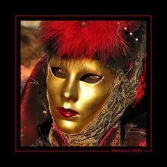 Masque 36 (Docaron) Tags: carnival venice portrait mask carnaval venise masque dominiquecaron