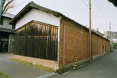 walking streets of Nishinomiya (miho's dad) Tags: kodakgold200 contaxrx yashica2828