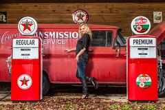 JunkyardShoot-20140316-320 (Frank Kloskowski) Tags: truck georgia shoot models gasstation junkyard gaspump lagrange
