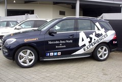Mercedes ML250 (MJ_100) Tags: car mercedes surrey mercedesbenz vehicle suv weybridge brooklands mercedesworld ml250