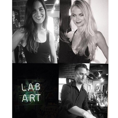 Another fantastic night @ Lab Art! #bartenders #events #labartlosangeles #labart eventlife #britweek #models #art #cocktails #losangeles #werk #staffing #200ProolLA #200Proof