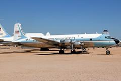 53-3240 | Douglas VC-118A Liftmaster | USAF (cv880m) Tags: unitedstatesofamerica airforce douglas usaf dma davismonthan dc6 pimaairspacemuseum pimamuseum propliner 33240 liftmaster c118 533240 vc118