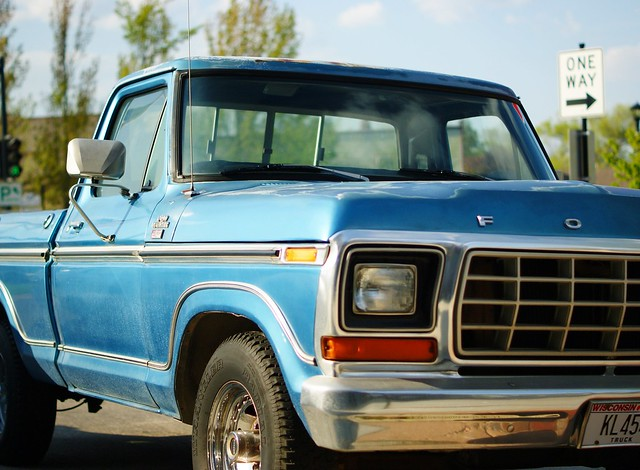 blue ford wisconsin oregon truck pickup f150 1980 wi xlt