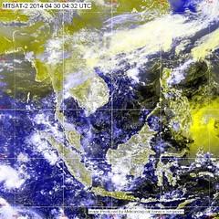 """ประกาศกรมอุตุนิยมวิทยา """"พายุฤดูร้อน (ในช่วงวันที่ 26–30 เมษายน 2557)""""  ฉบับที่ 24 ลงวันที่ 30 เมษายน 2557        บริเวณความกดอากาศสูงยังคงปกคลุมประเทศไทยตอนบน ทำให้บริเวณภาคเหนือ ภาคตะวันออกเฉียงเหนือ ภาคกลาง และภาคตะวันออก มีพายุฤดูร้อนเกิดขึ้น โดยมีลักษ"""