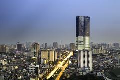 vl_03167 (Hanoi's Panorama & Skyline Gallery) Tags: city sunset panorama lake building skyline architecture skyscraper canon asian asia downtown capital skylines westlake hanoi asean appartment lotte hồtây hànội skyscrapercity badinh caoốc bađình lieugiai keangnamlandmark