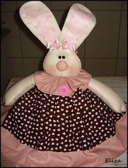 cobre bolo coelha (Eliza de Castro) Tags: cobrebolo decoraçãodecozinha kitdecozinha cobrebolovaquinha cobrebolocoelha