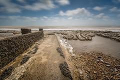 Groyne at Bexhill-on-Sea (James Waghorn) Tags: longexposure sea shells beach water clouds spring nikon sigma 1020 groyne eastsussex nisi bexhillonsea d7100