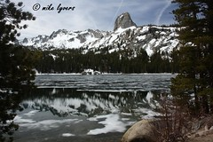 spring thaw (Mike Lyvers) Tags: california mountains nature lakes