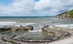 Portwrinkle, an ancient harbour (Baz Richardson (now away until 30 July)) Tags: sea coast cornwall seascapes whitsandbay ports southeastcornwall portwrinkle ancientharbour cornishharbours 16thcenturyharbour