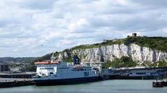 Haven en kasteel van Dover