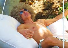 AvMem 026 (danimaniacs) Tags: shirtless man silly sexy guy hunk wig avmem