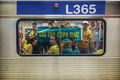 (flalbert.cecconato) Tags: brazil brasil metro vai paulo trem sao sim copa ter