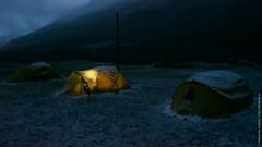 Наш последний лагерь на Коре вокруг Кайласа в Тибете