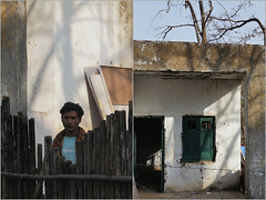 sarkari, sagai (nevil zaveri ( away :)) Tags: door trees shadow portrait people india house man men abandoned home window wall rural fence buildings photography photo blog diptych branch photographer village photos stock ruin documentary dry images tribal structure bamboo story hut photographs photograph government tribe zaveri barren gujarat stockimages ws gujrat nevil sagai nevilzaveri shoolpaneshar