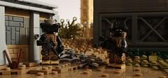Adrift (✠Andreas) Tags: desert lego wasteland apoc postapoc legomilitary legopostapoc legoscenes legoapoc legodesert legowasteland