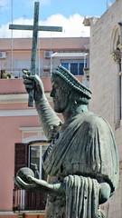 Colosso di Barletta (Eraclio Ar) (diodo00) Tags: canon statua barletta storia eraclio poweshot colosso ar sx230hs