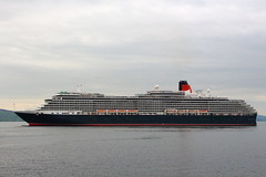 Queen Victoria (Fraser Murdoch) Tags: ocean cruise ireland dublin port liverpool river scotland clyde greenock orkney ship mail glasgow cork hamilton royal scottish vessel victoria terminal queen ms british around motor bermuda rms cunard isles kirkwall imo mv firth clydeport guernsay 9320556 zcef3