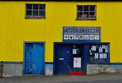 tarbert isle of harris (plot19) Tags: door uk blue building yellow island scotland fishing northwest bright britain north british harris outer northern isle hebrides plot19