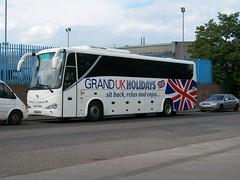 Globe Coaches/Tates Travel King Long BN63 NYA (YTC 858) Tags: travel globe long king barnsley tates