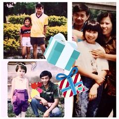 ถึงผู้ชายในฝันของฉัน #คือคุณพ่อที่แสนใจดีและอบอุ่นของเรา รักและคิดถึงมากที่สุด #สุขสันต์วันเกิดค่ะ  @Naree Nath