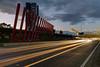 Tullamarine Freeway light trails (re-processed) 2012-09-28 (_MG_4741) (ajhaysom) Tags: traffic australia melbourne gateway lighttrails tullamarinefreeway canonefs1855 canoneos60d
