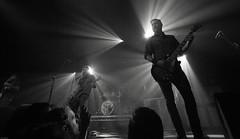 Mastodon (Brian Krijgsman) Tags: blackandwhite bw music film metal photography concert nikon europe european tour photos live grain band zwart wit genre mastodon melkweg 2014 d4 themax iso12800 briankrijgsman oncemoreroundthesun