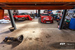The Gear Box (Sonick Photographie) Tags: red cars rouge nissan box garage gear ap silvia toyota japaneses tunes jdm voitures boite supra vitesse 200sx mk4 s14 japonaises s14a