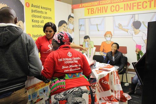 AHF South Africa at the 4th SA TB Conference
