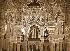 Granada Alhambra Lion Court (perseverando) Tags: architecture spain palace andalucia alhambra moorish granada lioncourt perseverando