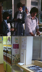 Margarets doing the stroodle soup, (Dave S Campbell) Tags: gregorys girl gregorysgirl bill forsyth film thenandnow locations then now abronhill high school brittish movie movielocations johngordonsinclair clairgrogan susan scotland robertbuchannan setjetting set jetting