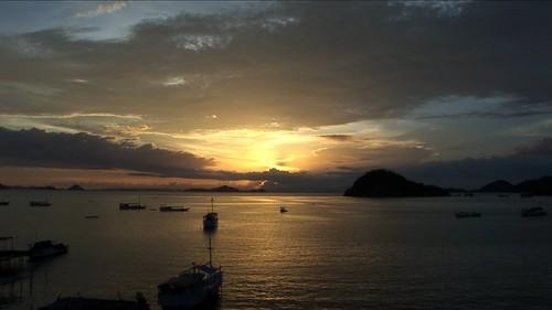 Indonesia - Flores - Labuan Bajo - Sunset - 3