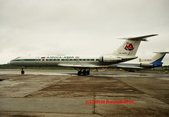 RA-65693 Tupolev TU-134B-3 Alrosa Avia (see desc) (Dave Russell (1.3 million views thanks)) Tags: aviation avia 2018 world flying last cn63221 63221 ra65693 tupolev tu134 tu 134 alrosa tu134b aircraft aeroplane airplane airliner air plane liner jetliner jet russia russian soviet classic passenger transport vehicle 65693 cccp cccp65693 outdoor moscow vnukovo airport photo photograph photography canon ra85429 85429 tu154 154