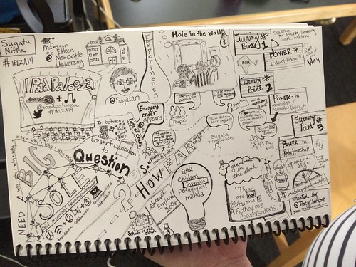 Visual Notes by Tracy Clark at iPadPaloo by Wesley Fryer, on Flickr