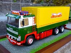 Scania 141 bilspedition (dirty76) Tags: truck sweden 110 124 camion 111 heller 141 suede vabis 125 140 svenska lkw revell italeri gregorymetzger