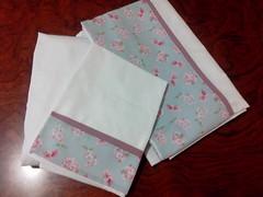 JOGO LENOL (Cecys Baby) Tags: floral azul beb nenm kit rosas menina bero bailarina roxo lenol