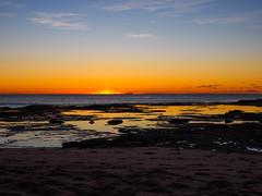 Shelly's beach (krysyjane) Tags: morning light beach water sunrise sand waves omd em1